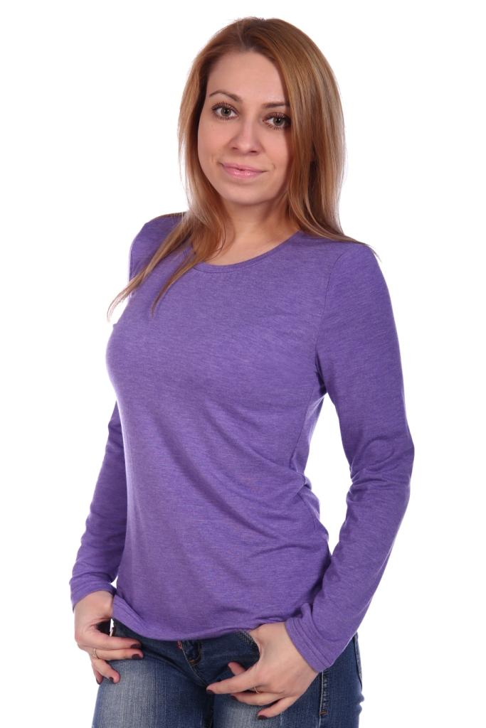 Жен. блуза арт. 16-0499 Сирень р. 44 фото