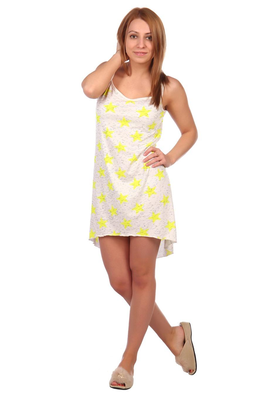 Жен. сорочка арт. 16-0456 Лимон р. 52 фото