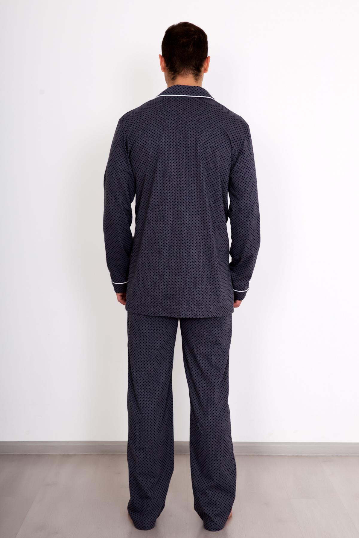 Муж. пижама комфорт серый