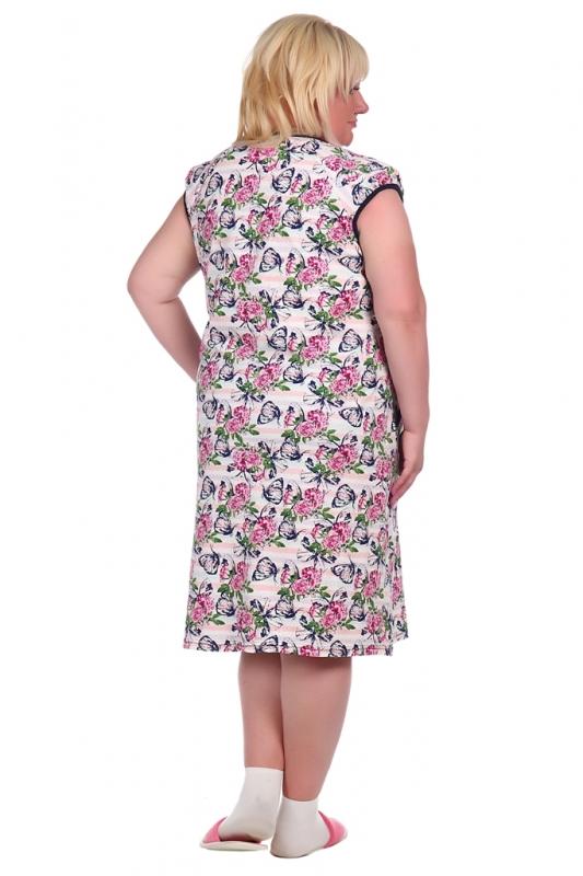 Жен. сорочка арт. 16-0515 розовый р. 70