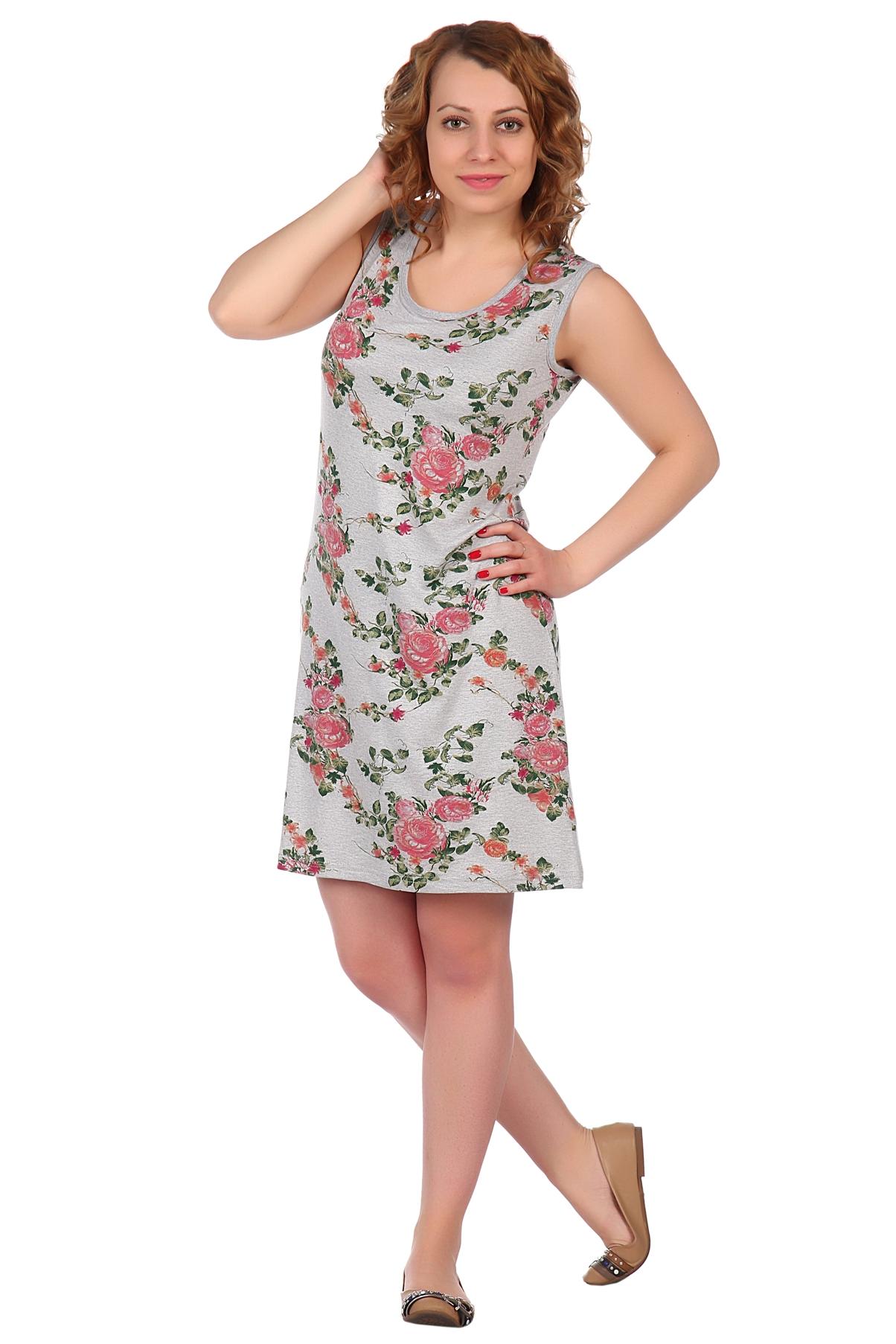 Жен. платье арт. 16-0514 Коралл р. 42 фото