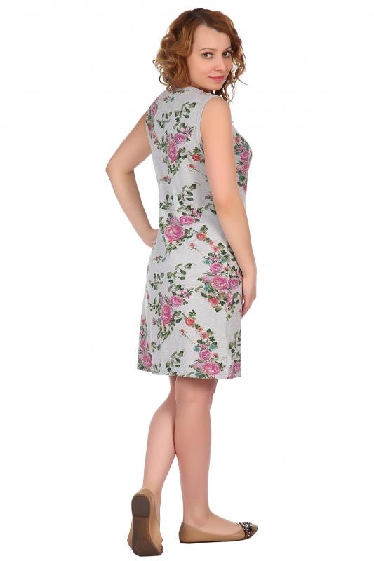 Жен. платье арт. 16-0514 розовый р.