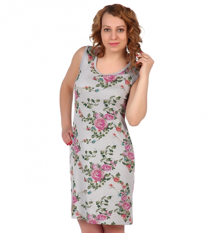 Жен. платье арт. 16-0514 Розовый р. 48 фото