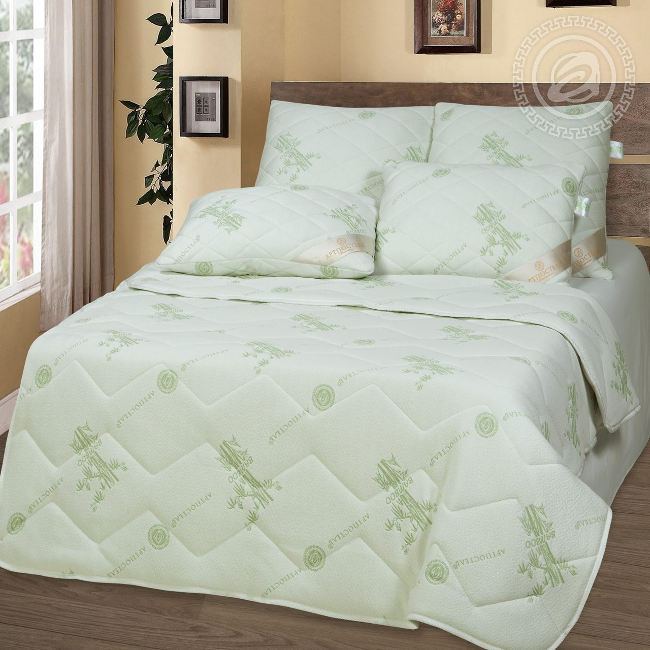 """Одеяло """"Бамбук Premium антистресс"""" р. 172х205 — Бамбук Premium антистресс"""