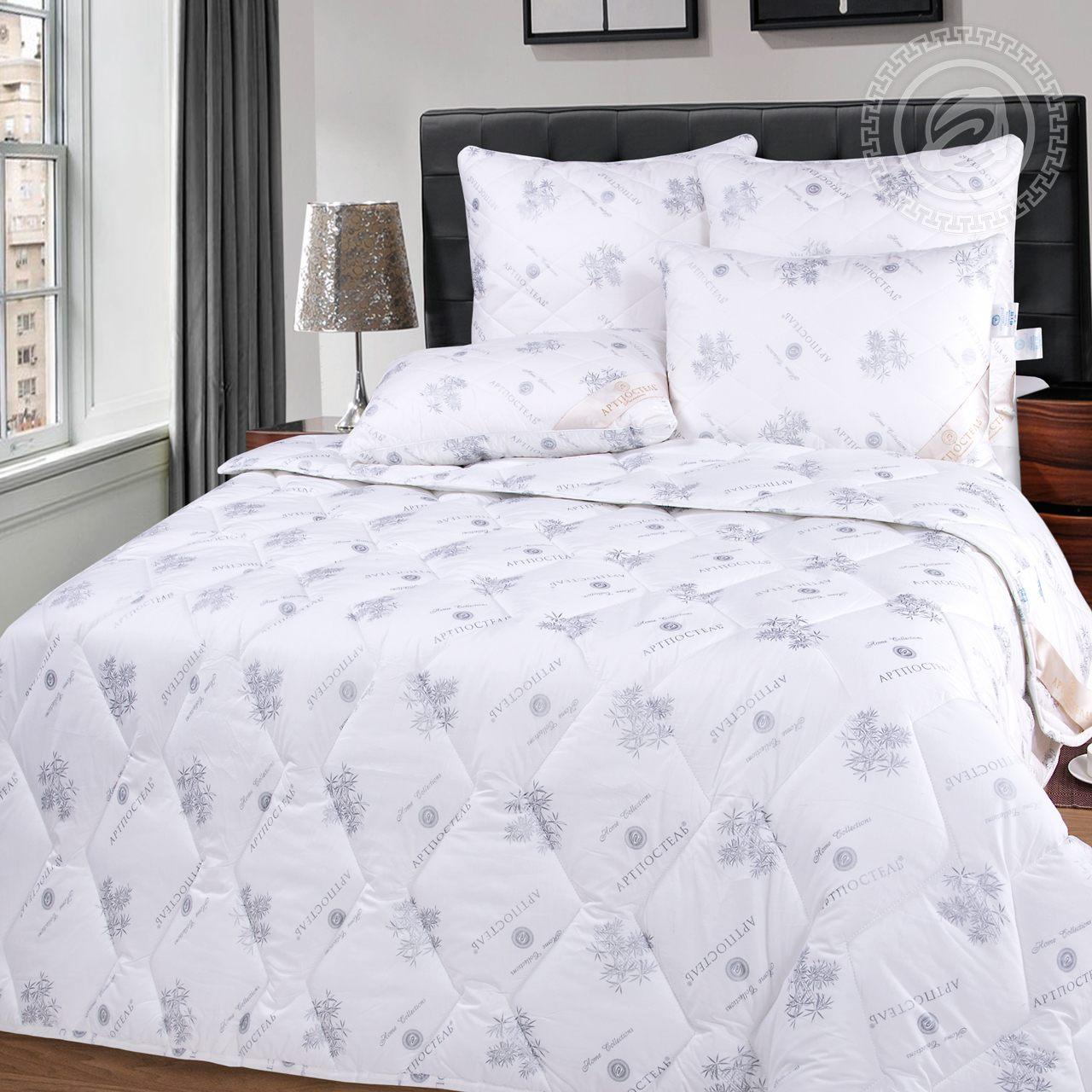 """Одеяло """"Бамбук Premium Облегченное"""" Белый р. 140х205 — Бамбук Premium Облегченное Белый"""