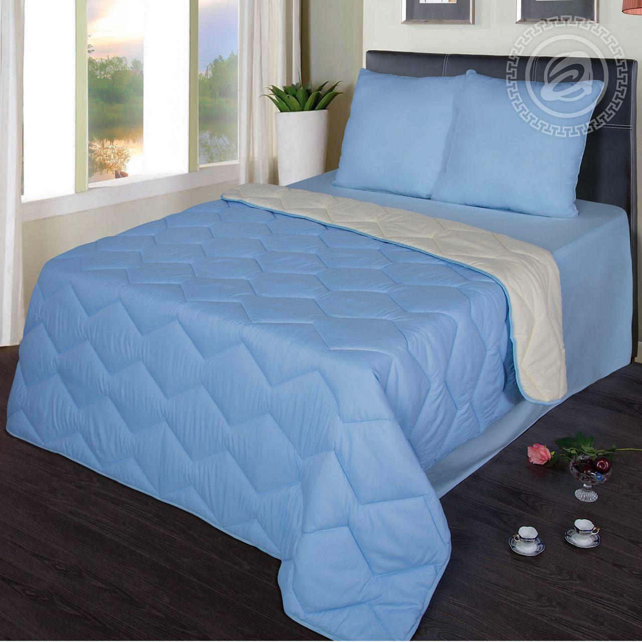 """Одеяло """"Comfort Голубой"""" р. Евро — Comfort Голубой"""