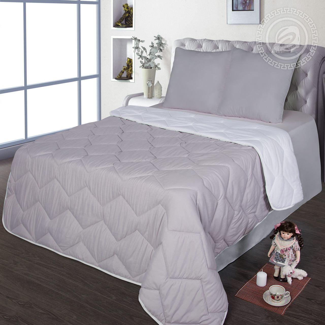 """Одеяло """"Comfort Серый"""" р. 2,0-сп. — Comfort Серый"""