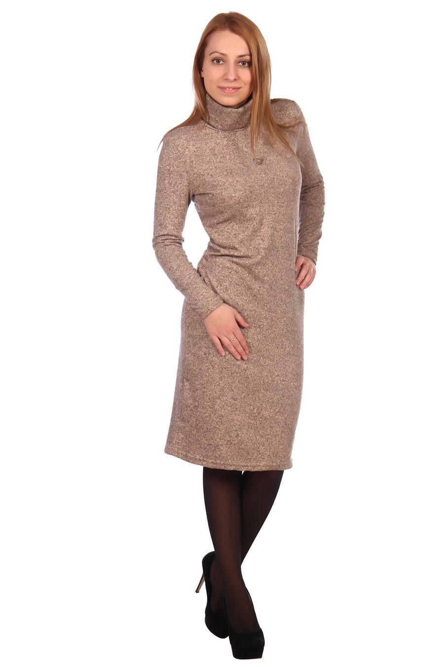Жен. платье арт. 16-0448 персиковый р. 54