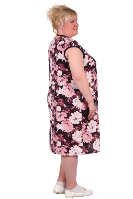Жен. платье арт. 16-0324 розовый р.