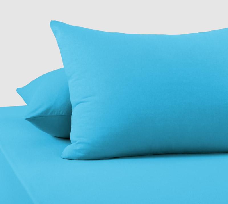 "Наволочки ""Голубой "" р. 70х70 — Голубой"