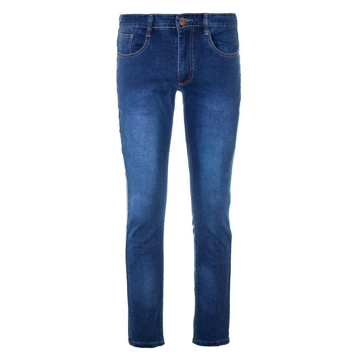 Муж. джинсы арт. 12-0091 Синий р. 29