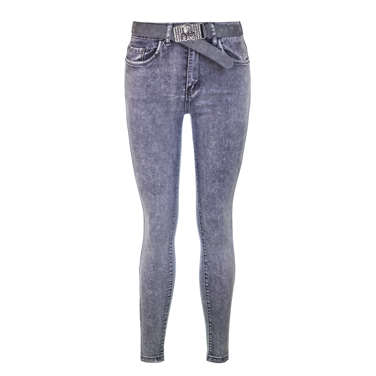 Жен. джинсы арт. 12-0087 Серый р. 31