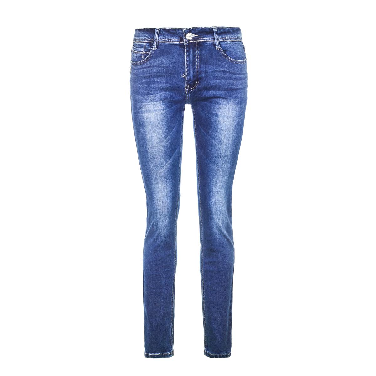 Жен. джинсы арт. 12-0089 Синий р. 30