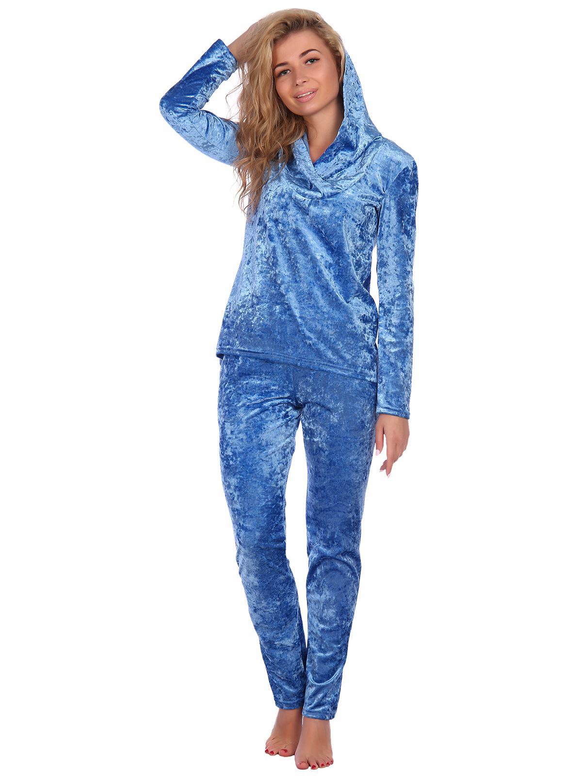 Жен. костюм арт. 16-0236 Голубой р. 50 НСД Трикотаж