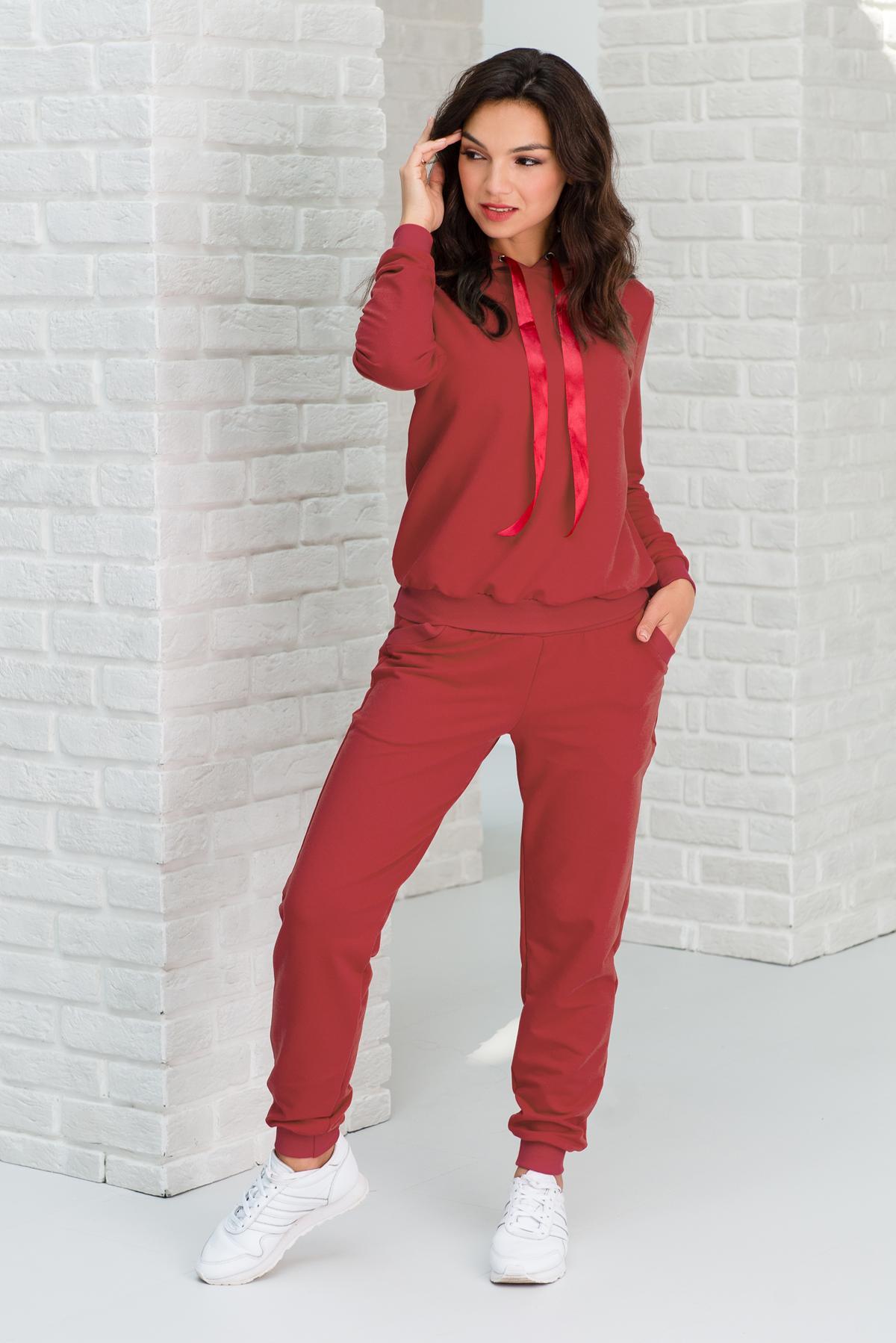 Жен. костюм арт. 19-0343 Амарант р. 44 Шарлиз