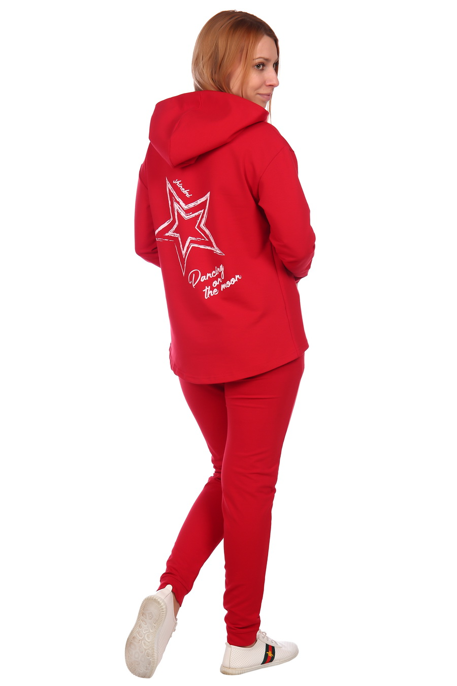 ЕленаТекс / Жен. костюм арт. 17-0074 Красный р. 44