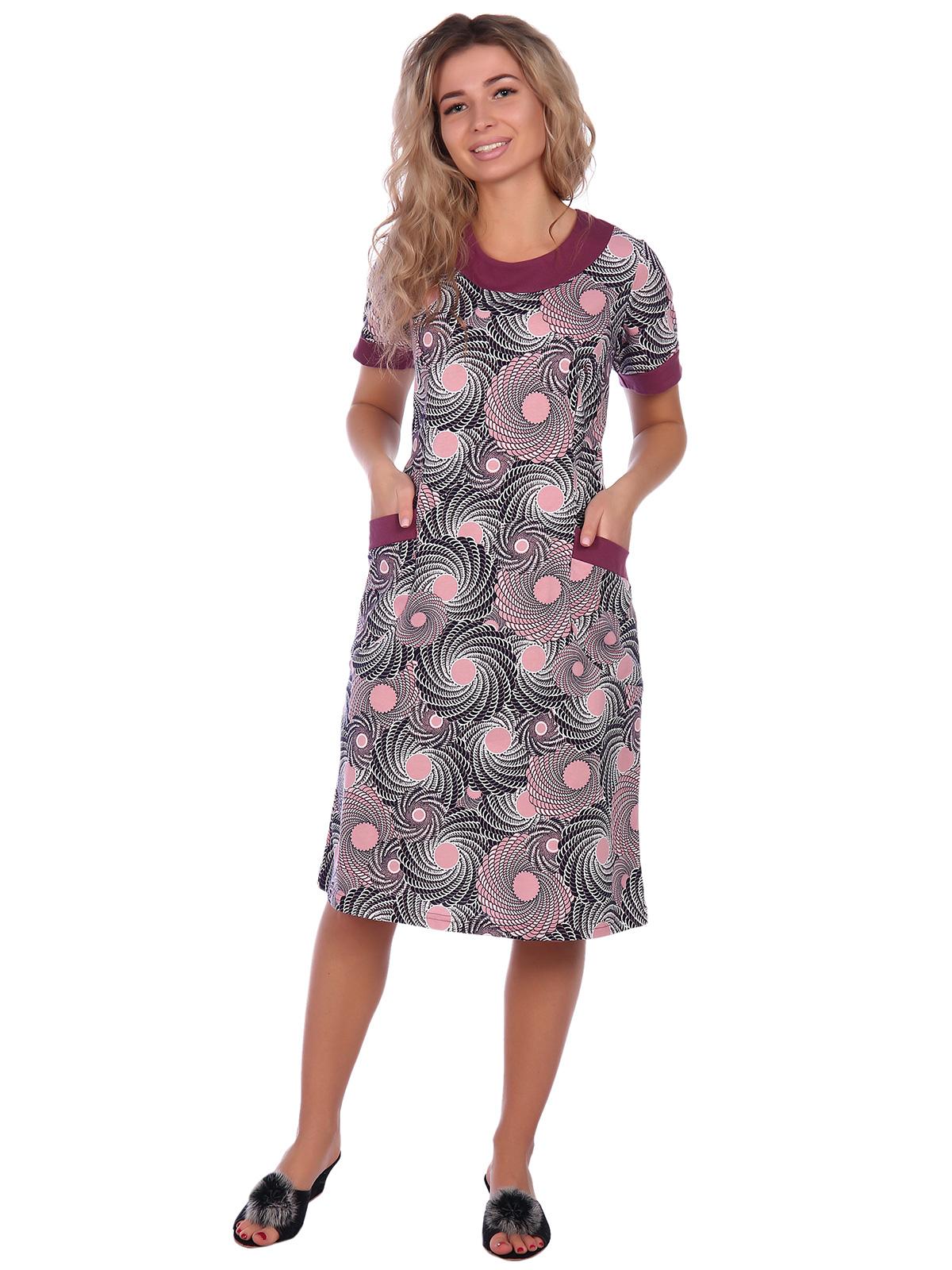 Жен. платье арт. 16-0667 Марсала р. 52 фото