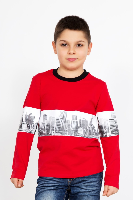 "Дет. толстовка ""Сити"" Красный р. 36 — Сити Красный"