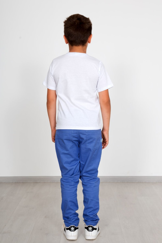 Дет. футболка арт. 18-0745 Белый р. 34