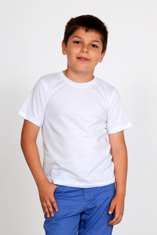 Дет. футболка арт. 18-0745 Белый р. 30