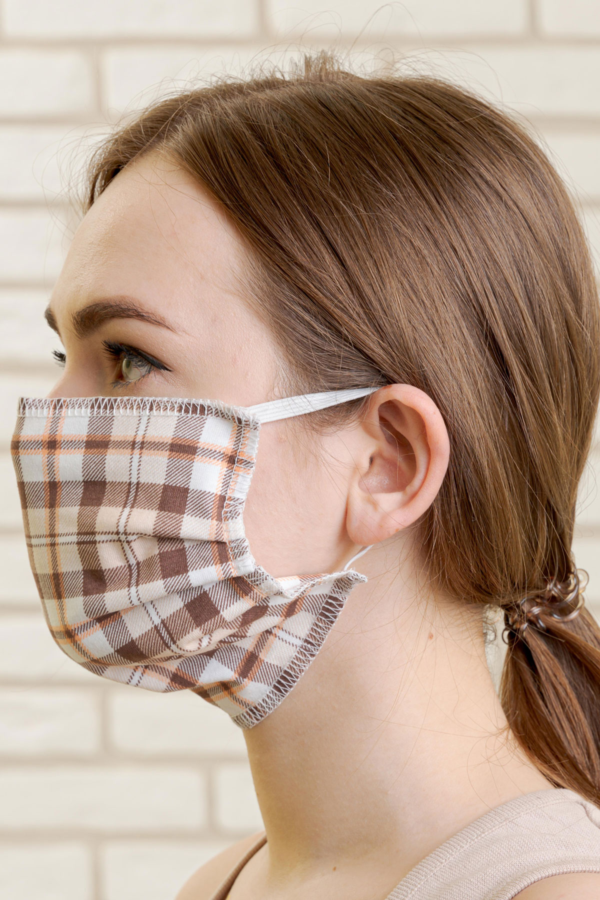 Защитная маска арт. 18-0994 В ассортименте р. 20х9