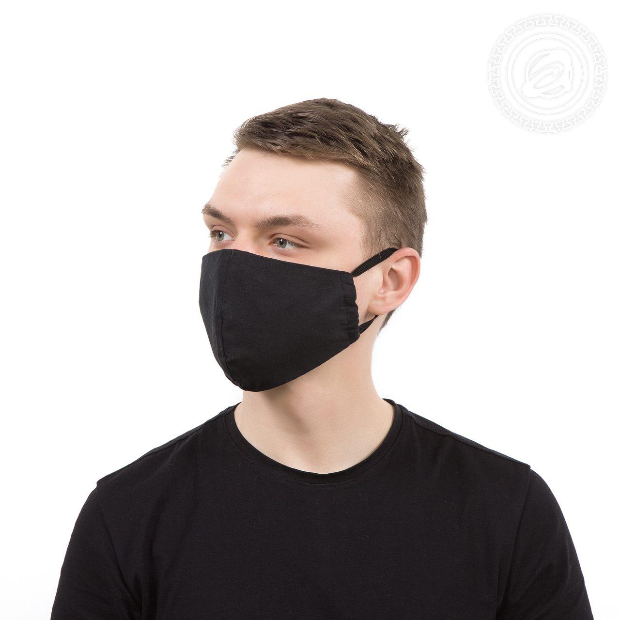 Защитная маска арт. 01-1059 Черный р. 22х15