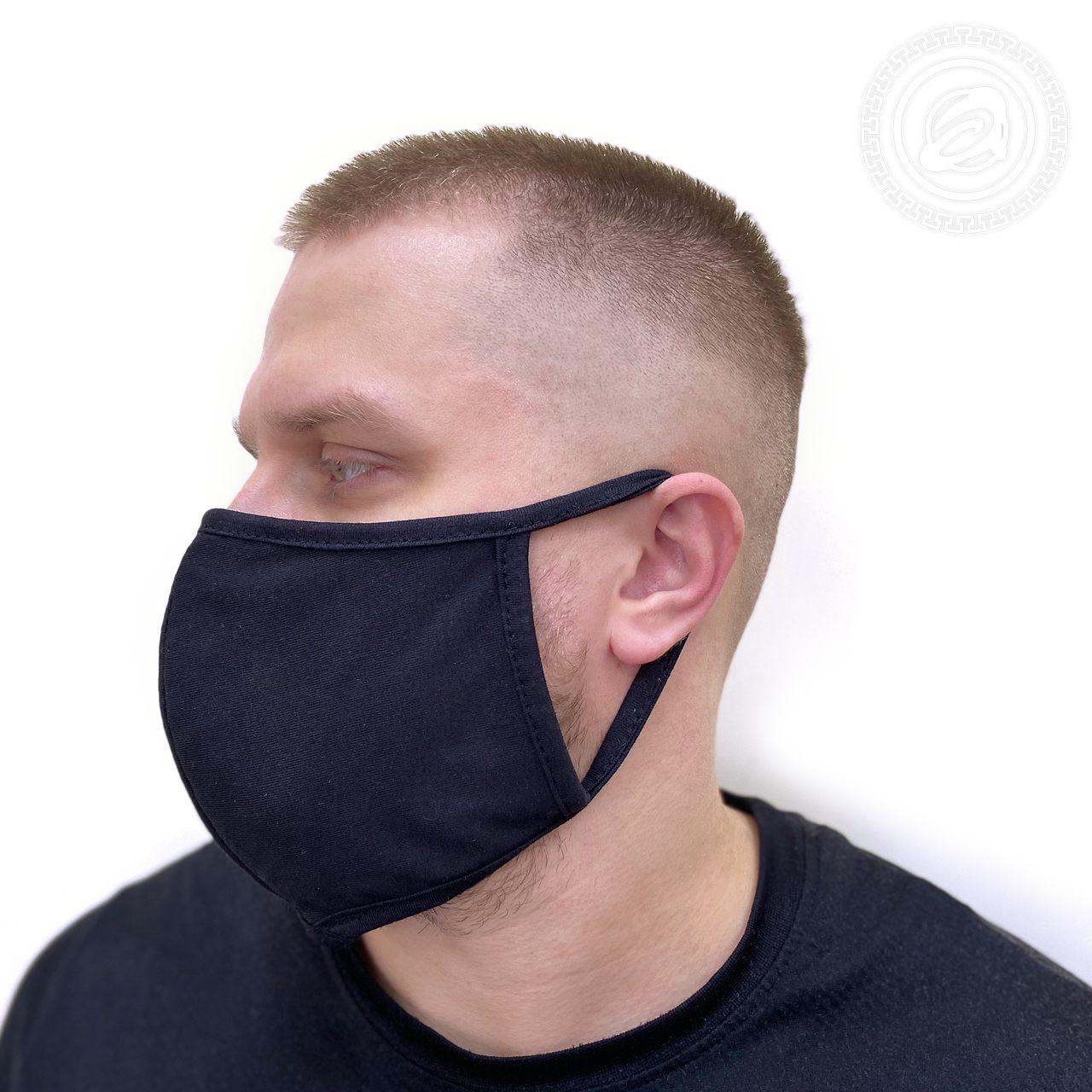 Защитная маска арт. 01-1057 Черный р. 22х15