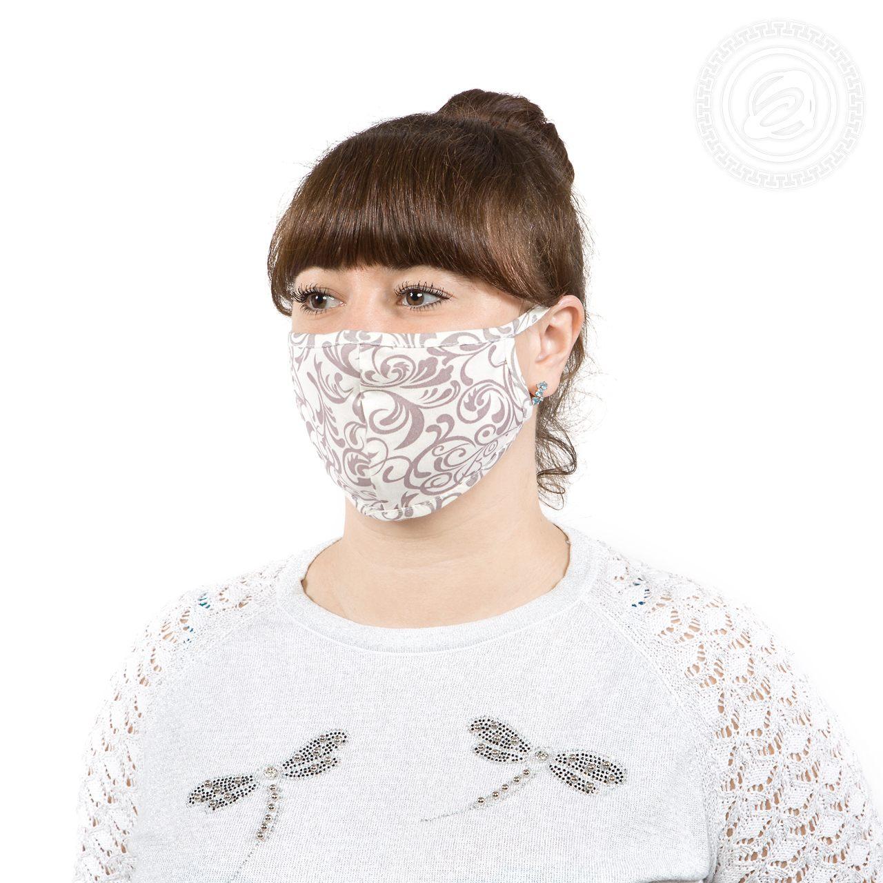 Защитная маска арт. 01-1056 В ассортименте р. 22х15