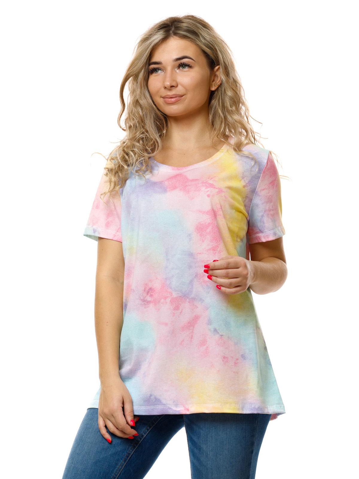 Жен. футболка арт. 16-0853 Бирюзовый р. 50
