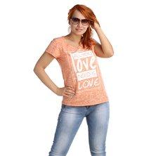 Жен. футболка арт. 16-0026 Коралл р. 44