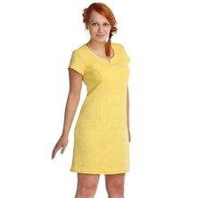 Жен. платье арт. 16-0025 Желтый р. 42