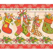 """Вафельное полотенце """"Новогодние подарки"""""""