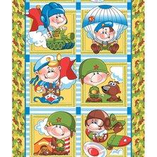 """Вафельное полотенце """"Армейские истории"""""""