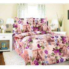 """Комплект постельного белья """"Париж в розовом"""""""