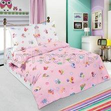 """Детский комплект постельного белья """"Бусинка"""" Розовый"""