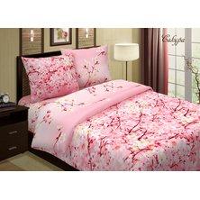 """Комплект постельного белья """"Сакура"""" Розовый"""
