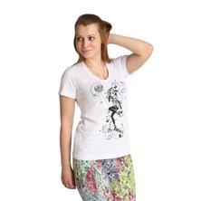 "Женская футболка ""Beauty"" Белый"