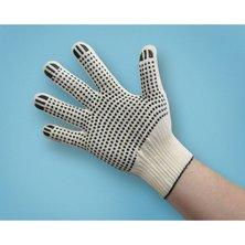 Перчатки с ПВХ наладонником - 10 пар