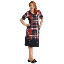 Жен. платье арт. 16-0033 Бордовый р. 50