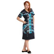 Жен. платье арт. 16-0033 Бирюзовый р. 50