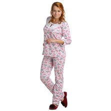 Жен. пижама арт. 16-0046 Малиновый р. 46