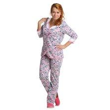 Жен. пижама арт. 16-0047 Малиновый р. 48