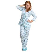 Жен. пижама арт. 16-0047 Бирюзовый р. 48