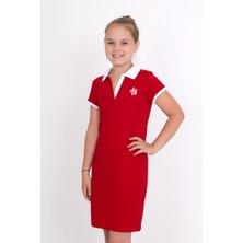 Дет. платье арт. 18-0126 Красный р. 32