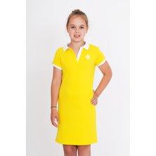 Дет. платье арт. 18-0126 Желтый р. 32