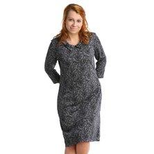 Жен. платье арт. 16-0073 Черный р. 46