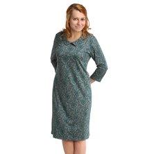 Жен. платье арт. 16-0073 Зеленый р. 46