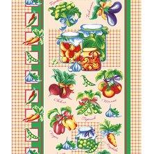 """Вафельное полотенце """"Овощи"""" р. 50х70"""