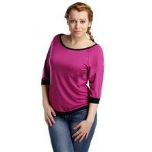 Жен. блуза арт. 16-0118 Темно-лиловый р. 44