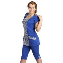 Жен. костюм арт. 16-0137 Синий р. 50